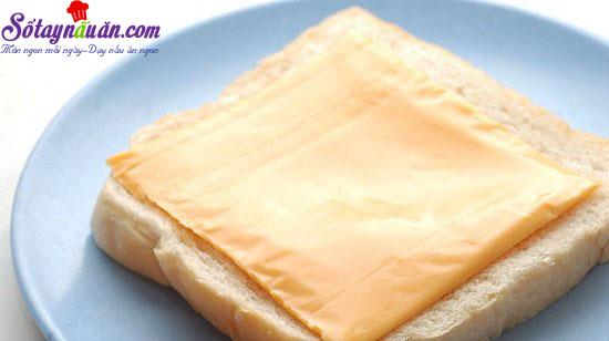 cách làm bánh phô mai xúc xích chiên 2