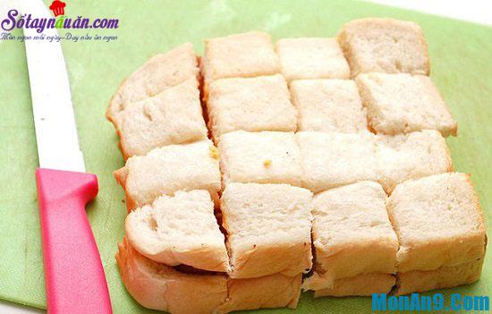 cách làm bánh phô mai xúc xích chiên 3