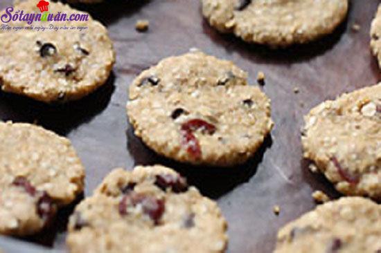cách làm bánh quy yến mạch 4