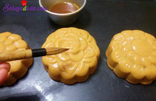 Cách làm bánh trung thu nhân khoai môn 7