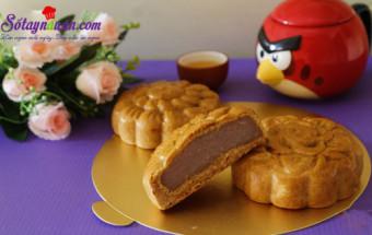 Nấu ăn món ngon mỗi ngày với Phần nhân bánh, Cách làm bánh trung thu nhân khoai môn kết quả 2