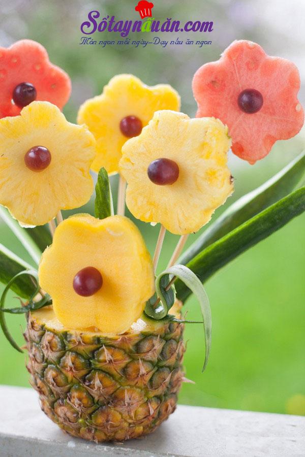 Cách trang trí mâm ngũ quả đẹp trong ngày tết trung thu 9