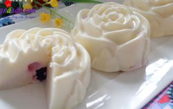 Cách làm kem, Mát lạnh cùng sữa chua thạch phô mai thơm ngon kết quả