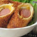 Đổi vị với nui sốt thịt băm viên ngon hết ý, cách làm sandwich cuộn xúc xích - trà xanh sữa 2