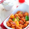 bí quyết ngâm sấu ngon, thịt thăn sốt chua ngọt 9