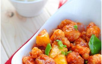 Nấu ăn món ngon mỗi ngày với Dứa, thịt thăn sốt chua ngọt 9