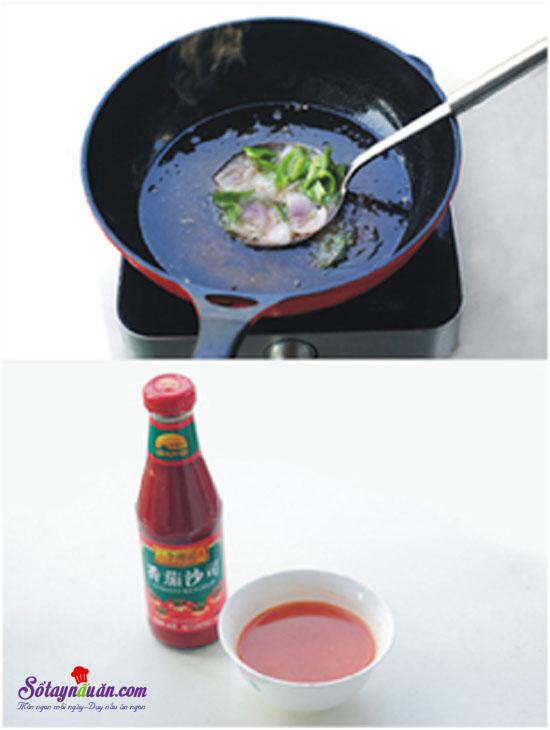 thịt thăn sốt chua ngọt 6