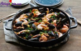 Làm đồ ăn sáng, cách làm cơm hải sản thập cẩm 6