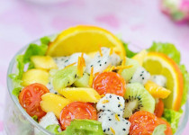 Hướng dẫn làm salad hoa quả đơn giản mà giàu dinh dưỡng