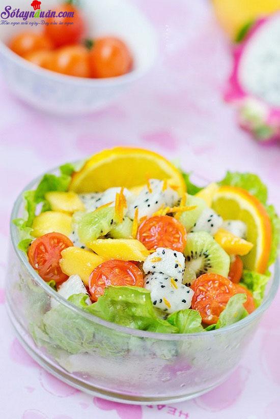 cách làm salad hoa quả 8