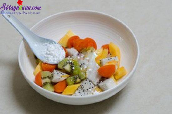 cách làm salad hoa quả 7