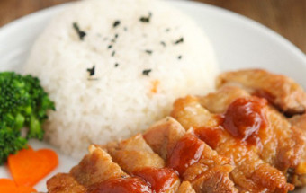 cách rán, Bữa trưa với cơm gà rán siêu hấp dẫn kết quả