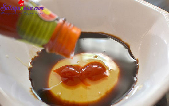 cách làm cánh gà sốt mật ong 2