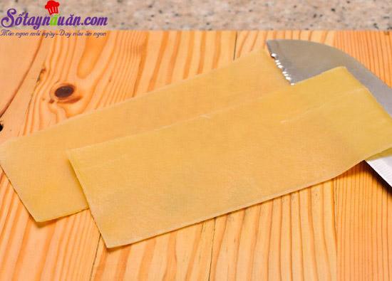 cách làm món lasagna cuộn phô mai của ý 2