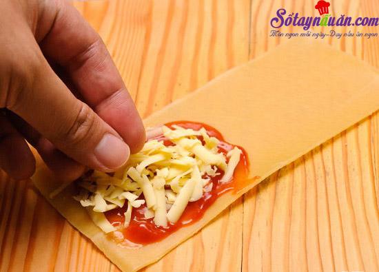 cách làm món lasagna cuộn phô mai của ý 4