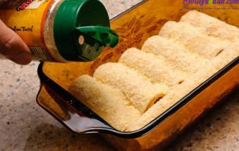 Nấu ăn món ngon mỗi ngày với Trứng gà, cách làm món lasagna cuộn phô mai của ý 7