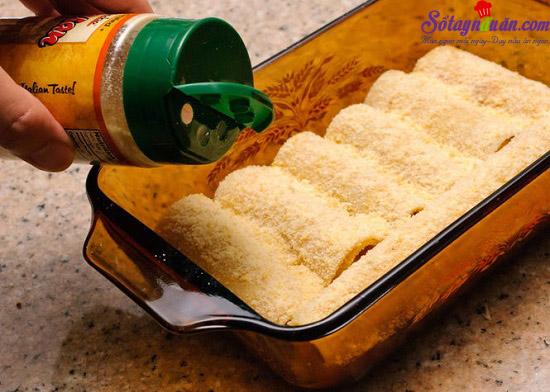 cách làm món lasagna cuộn phô mai của ý 7