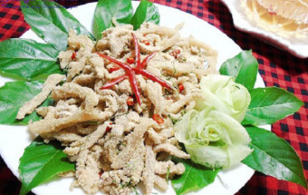 Nấu ăn món ngon mỗi ngày với Bí, cách làm nem bì thính 7