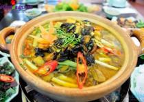 Ốc om chuối đậu – món ngon đưa cơm