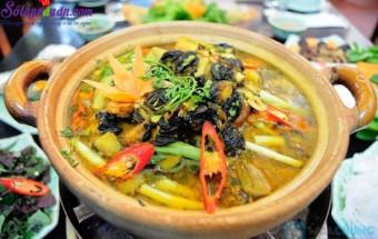 Nấu ăn món ngon mỗi ngày với Thịt ba chỉ, cách làm ốc om chuối đậu 5