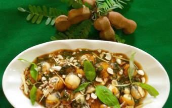 Nấu ăn món ngon mỗi ngày với Lạc rang, cách làm cút lộn xào me 8