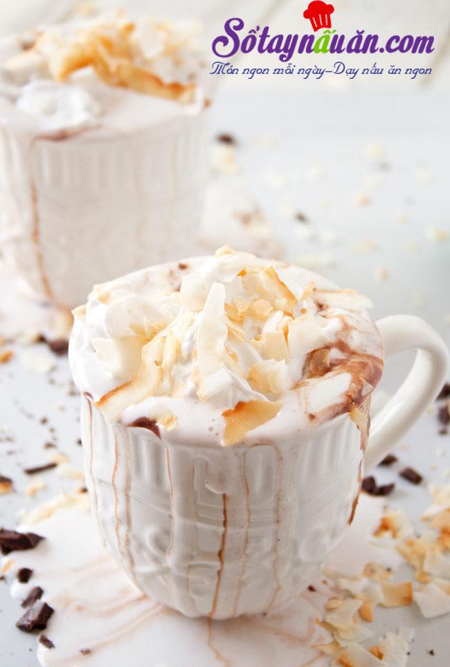 Cách làm whipped cream từ nước cốt dừa cực dễ 5