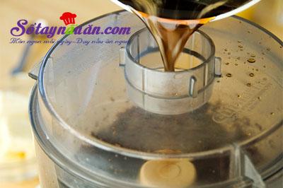 Làm bánh truffle chocolate không cần bột mì 4