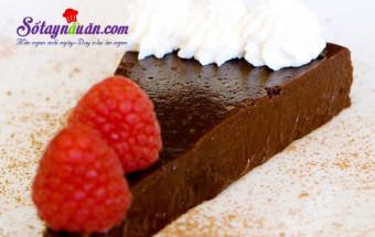 Làm bánh ngọt, Làm bánh truffle chocolate không cần bột mì kết quả