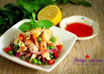 Nộm gà chua ngọt – thực đơn giảm cân