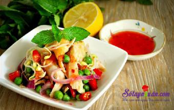Nấu ăn món ngon mỗi ngày với Tương ớt, Nộm gà chua ngọt - thực đơn giảm cân kết quả