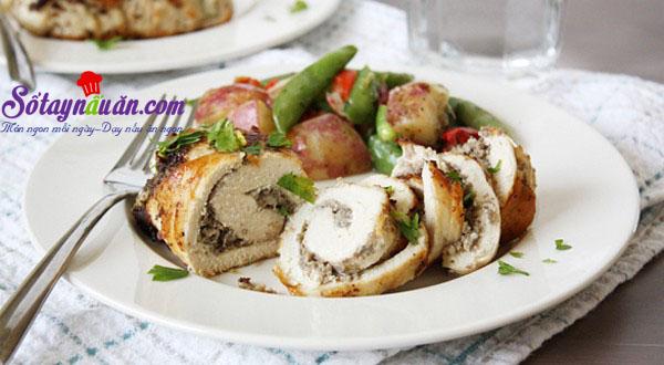 Siêu lòng cùng gà cuộn nấm ngon đúng điệu kết quả