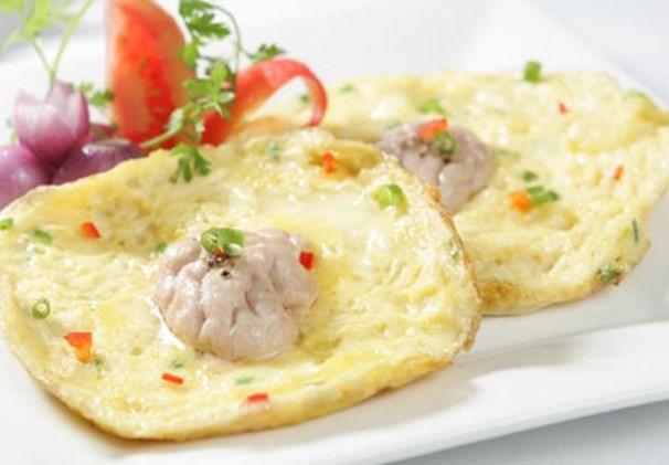 Trứng gà bột nhung hươu