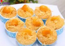 Hướng dẫn làm bánh bông lan trứng muối ngon mê ly