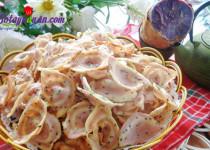 Bánh tai heo khoai lang – món ăn vặt ngon tuyệt