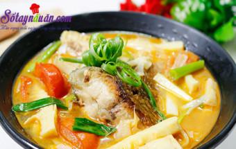 món ngon việt nam, Bí quyết để món canh cá nấu măng chua thơm ngon đậm đà kết quả