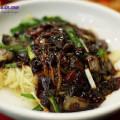 đá bào, cách làm mỳ tương đen 5