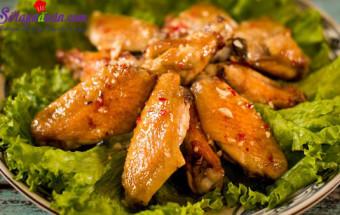 Nấu ăn món ngon mỗi ngày với Đường, cách làm cánh gà chiên mắm tỏi 9