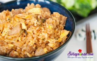 Nấu ăn món ngon mỗi ngày với Hành lá, Cách làm cơm chiên kimchi cay mà tuyệt ngon kết quả