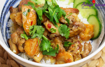 Nấu ăn món ngon mỗi ngày với Gừng, cách làm gà kho sả 6