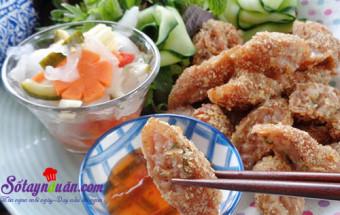 món ăn vỉa hè, Cách làm nem chua rán tại như ngon như ngoài hàng kết quả