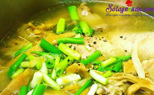 Cách làm vịt nấu miến cho những ngày chán cơm 8