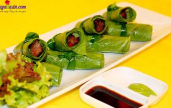 Nấu ăn món ngon mỗi ngày với Nấm hương, cách làm bò cuốn lá cải 6