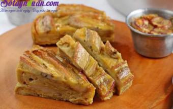 Nấu ăn món ngon mỗi ngày với Đường, cách làm bánh chuối nướng 2