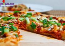 Cách làm bánh pizza kim chi ngon miễn chê