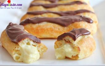 Nấu ăn món ngon mỗi ngày với Whipping Cream, cách làm bánh su kem 6