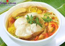 Hướng dẫn làm canh chua cá lóc thơm ngọt thịt