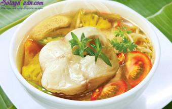 Nấu ăn món ngon mỗi ngày với Tỏi, cách làm canh chua cá lóc 1