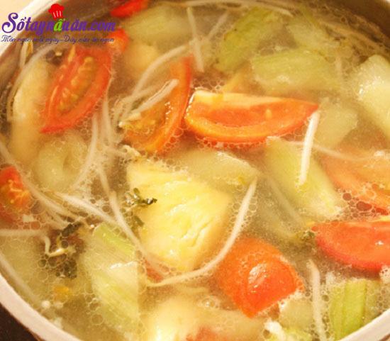 cách làm canh chua cá lóc 6