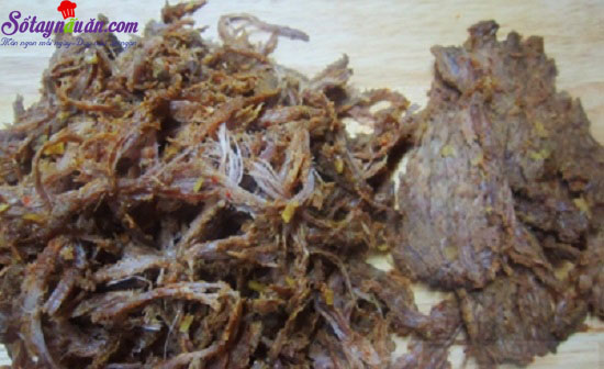 cách làm thịt bò khô 5