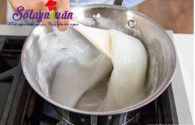 Cách làm warabi mochi - bánh quý tộc Nhật Bản 3
